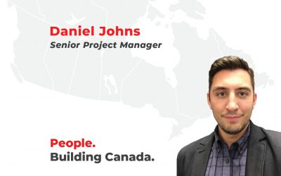Welcome to the team Daniel!